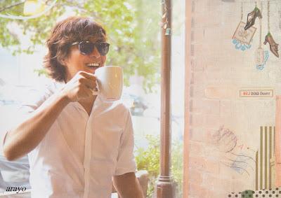 Bae Yong Joon  2013diary-1