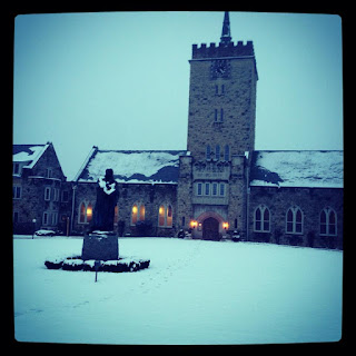 Wartburg Seminary in the Snow