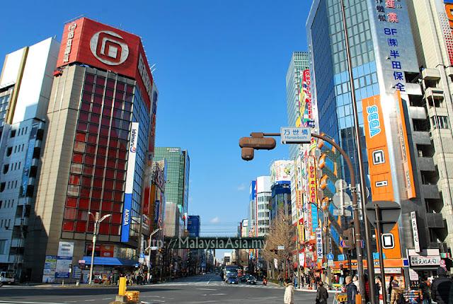 Visiting Tokyo Japan