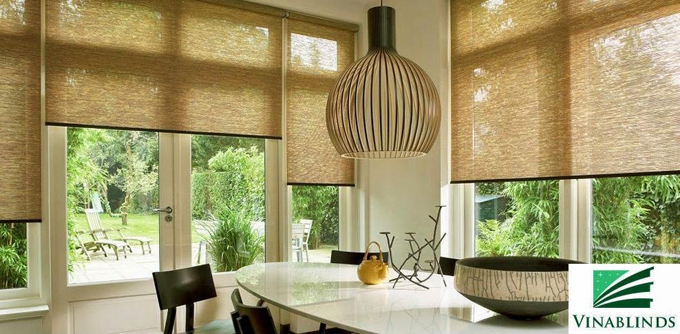 Màn sáo cuộn (Roll blinds)