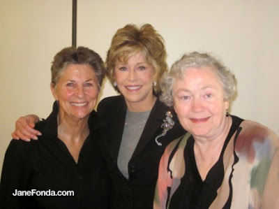 Roshi Joan Halifax, Jane Fonda, Mary Catherine Bateson