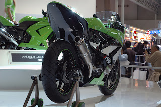 ninja 250R1 Modification