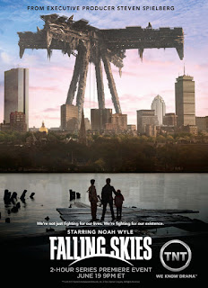 falling skies poster1 Download Falling Skies   1ª, 2ª, 3ª e 4ª Temporada RMVB Legendado