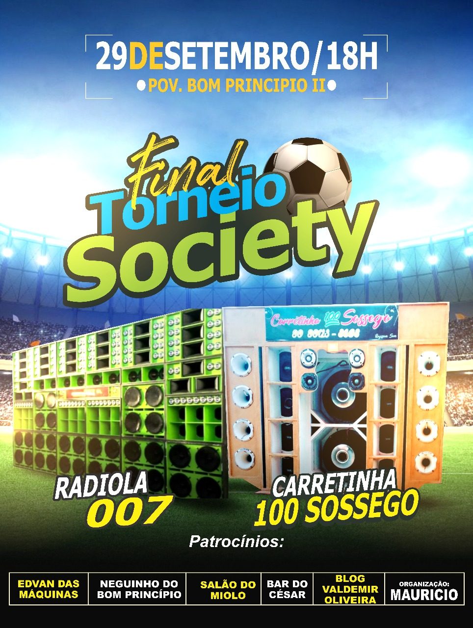 FINAL TORNEIO SOCIETY
