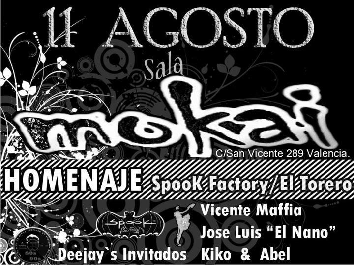 Factor A Valencia Fiesta 11 08 2012 Los Vuelos Del