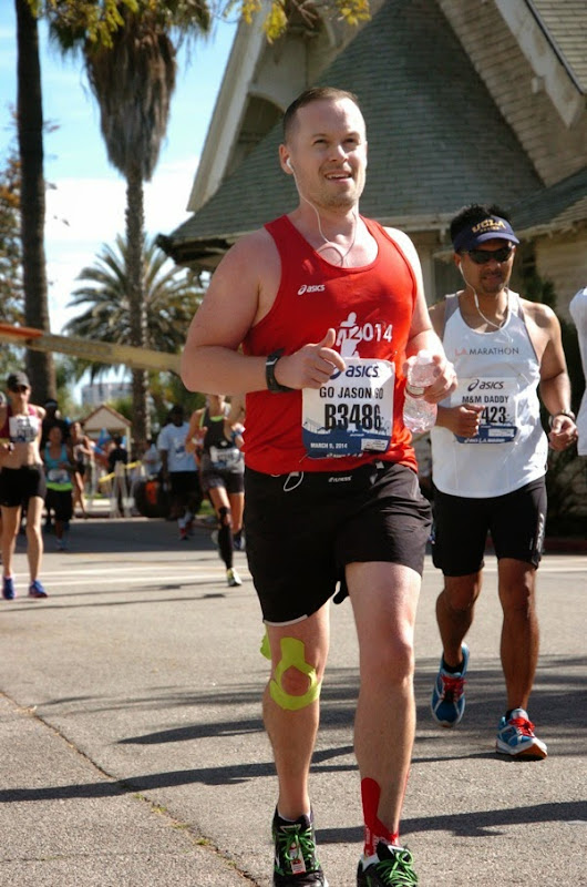 Running L.A. Marathon 2014