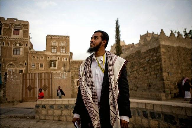 """Modern man of the Sana'a in the Yemen - original home of the semilegendary Muzaikiyya of Marib (Meribah - Exodus 17; Numbers 20:14; Psalm 81:7) and """"the ..."""