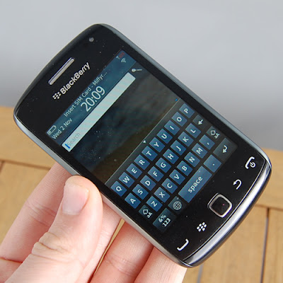 Blackberry curve 9380 display