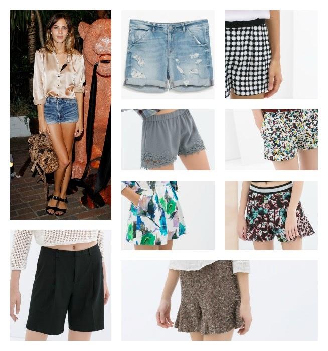 pantalones shorts primavera verano 2014