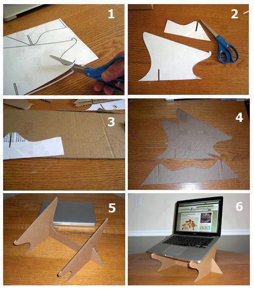 Hazlo tú mismo : soporte para laptop