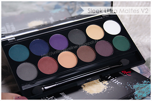 Sleek Ultra Mattes V2 Dark