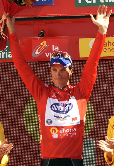 maillot ganador vuelta ciclista España 2011