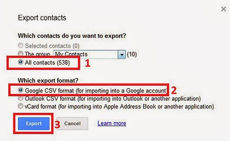 Gmail Export To CSV 3