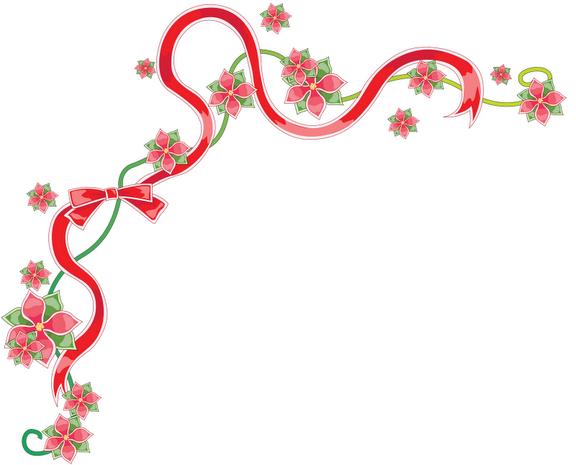 BAÚL DE NAVIDAD: Esquineros navideños Flores de Pascua (7 imágenes ...