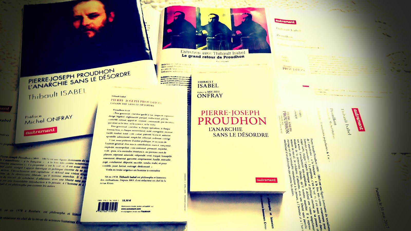 Nouveau : La page Facebook du livre Proudhon