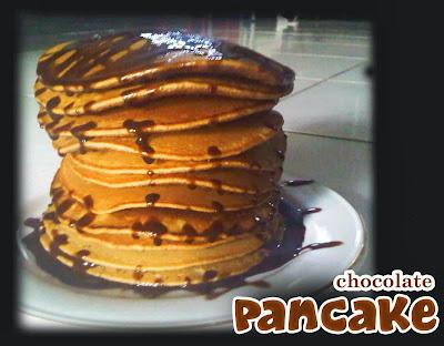 Resep Cara Membuat Pancake Coklat BlueBerry