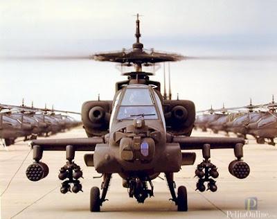 Biaya Pembelian Helikopter Apache Dari Utang Luar Negeri
