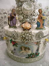Nativity Collage Christmas Box