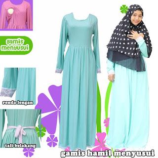Baju Muslim Bagi Wanita yang Menyusui