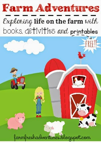 Books, activities and free printables to explore the farm