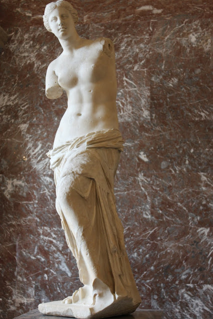 Venus de Milo in Lourve Museum in Paris, France