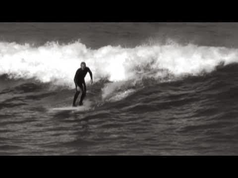 Sesion Surf en la Zurriola 13 de Marzo de 2014
