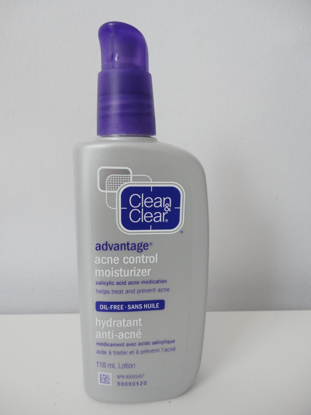 review clean and clear acne advantage moisturizer and my