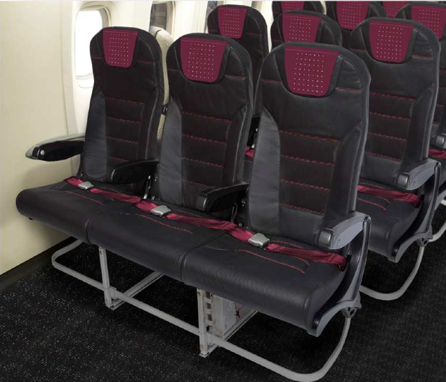 The new JAL domestic Economy Class seats