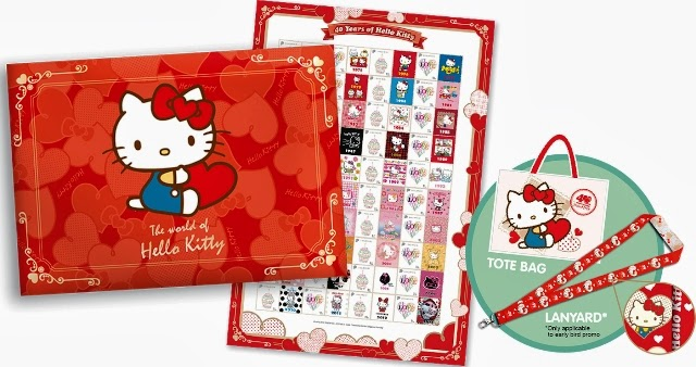 hello kitty limted edition mystamp book set review