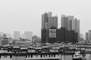 vue immeuble en construction