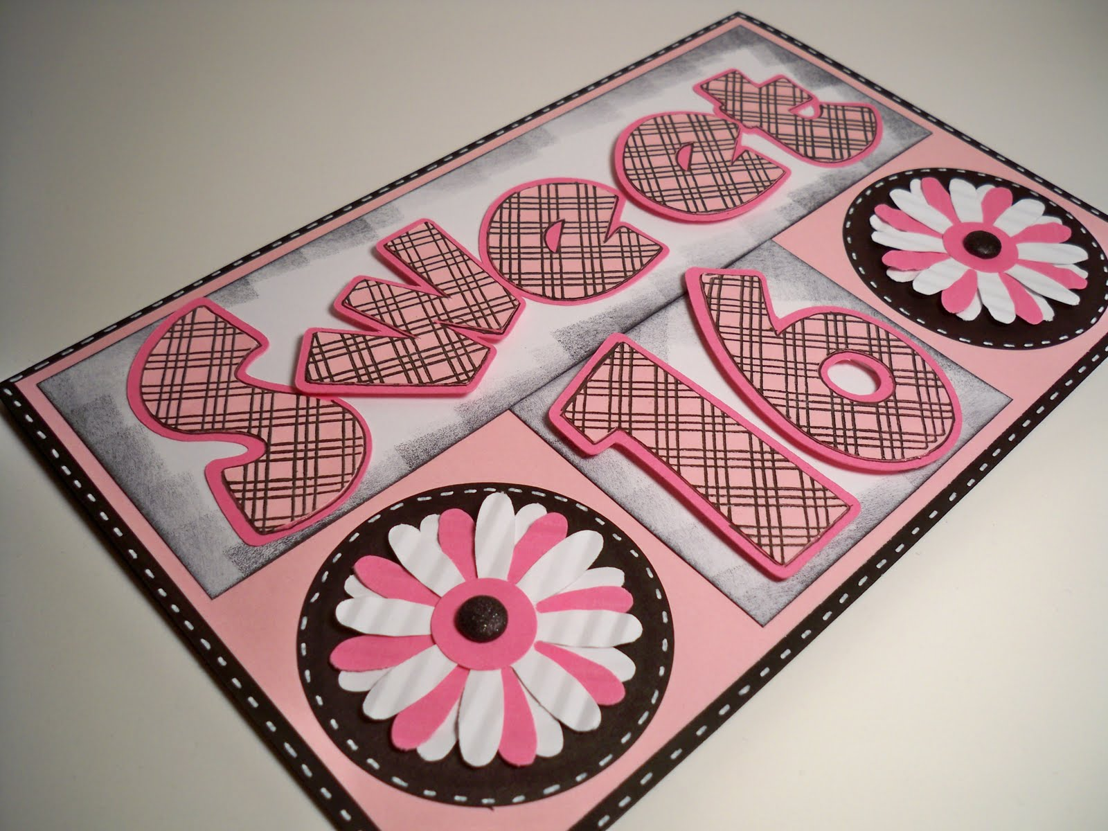 Card Creations & More by C Birthday Card Sweet 16