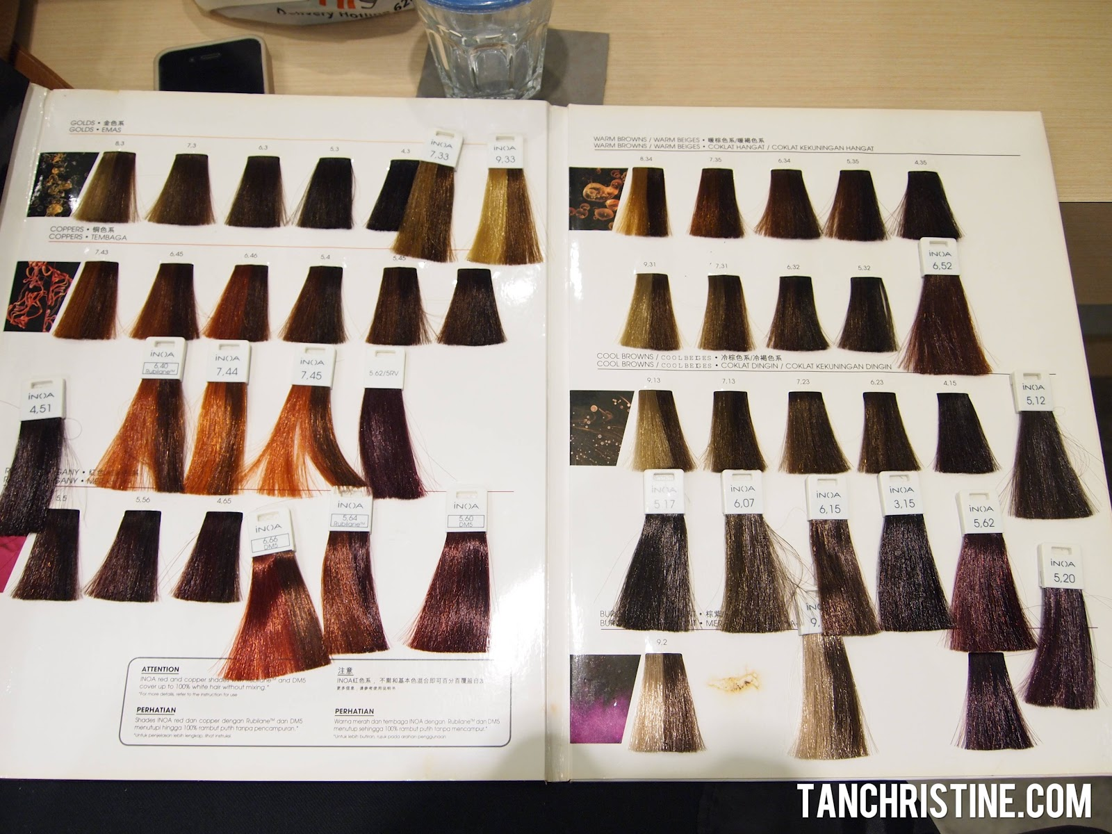 Inoa Loreal Hair Color Chart Rebellions