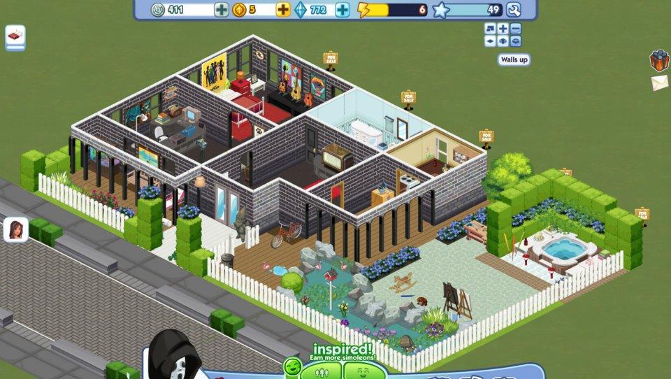 & Inggit Inggit Semut: The Sims Social Indonesia (House Design)