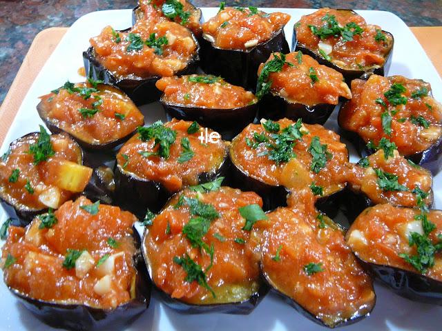 Ile recetas berenjenas con tomate y ajo for Como cocinar la berenjena