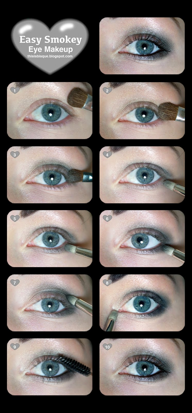 Soft Smokey Eyeshadow Tutorial Tutorial