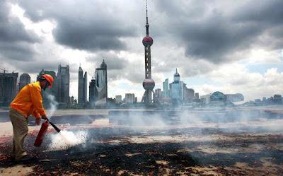 Shangai: crescimento planificado gerou imensa bolha imobiliária