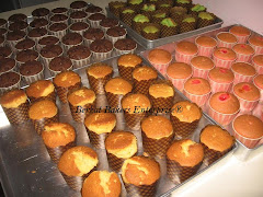 Plain Cupcake (Vanila, Chocolate, Orange Poppy & Pandan)