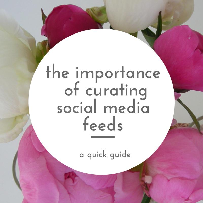 Curating Social Media Feeds