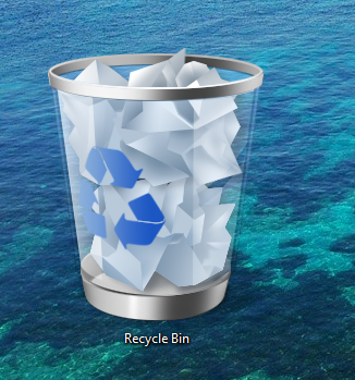 Missing Recycle Bin, How to Restore in Desktop – Windows 7