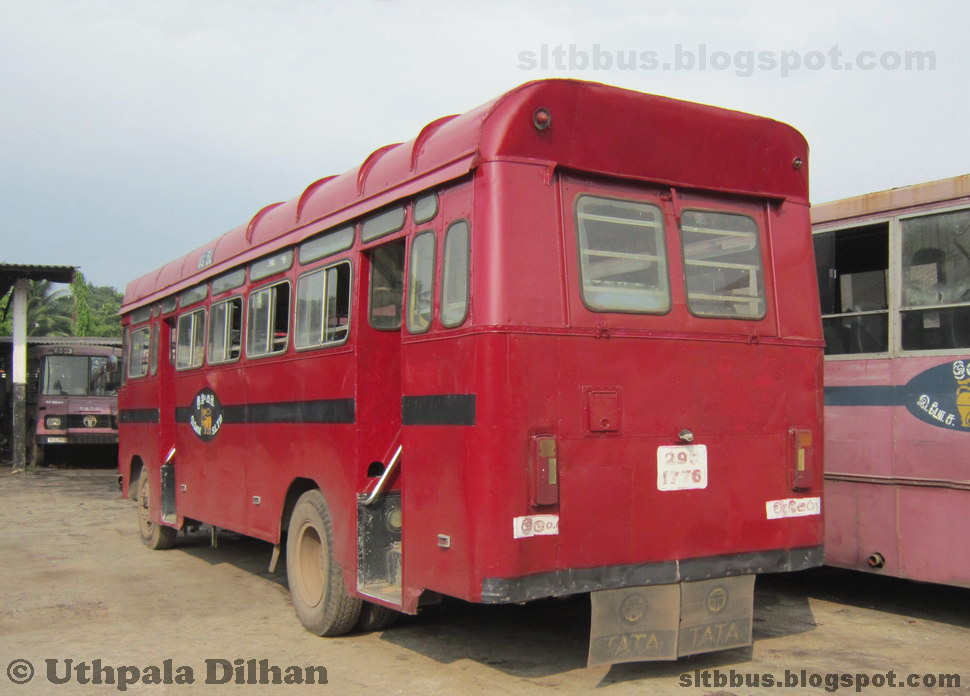 sltb buses sltb bodied classic tata 1210 bus from welisara depot. Black Bedroom Furniture Sets. Home Design Ideas