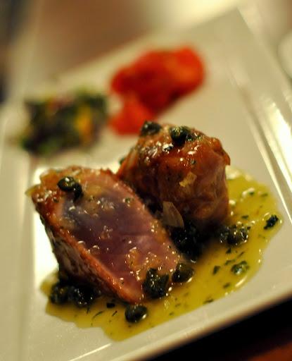 Seared Prosciutto-Wrapped Tuna - Twisted Olive - Bethlehem, PA | Taste As You Go
