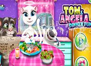 Tom y Angela Dinner Fun juego