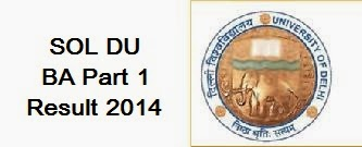 SOL DU BA Part 1 Result 2014