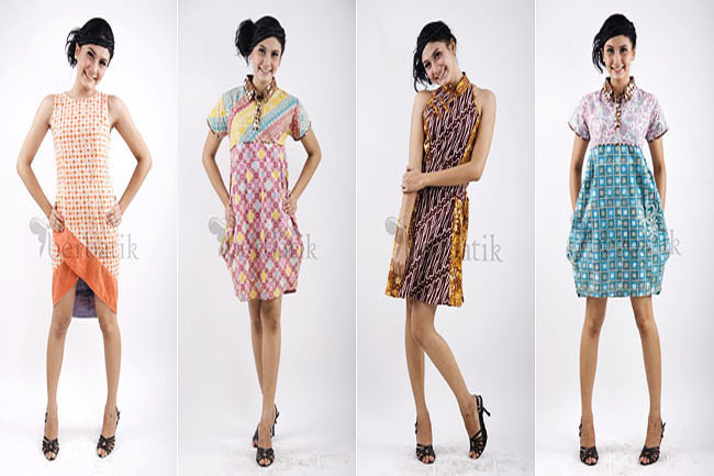 Model Dress Batik Terbaru 2013