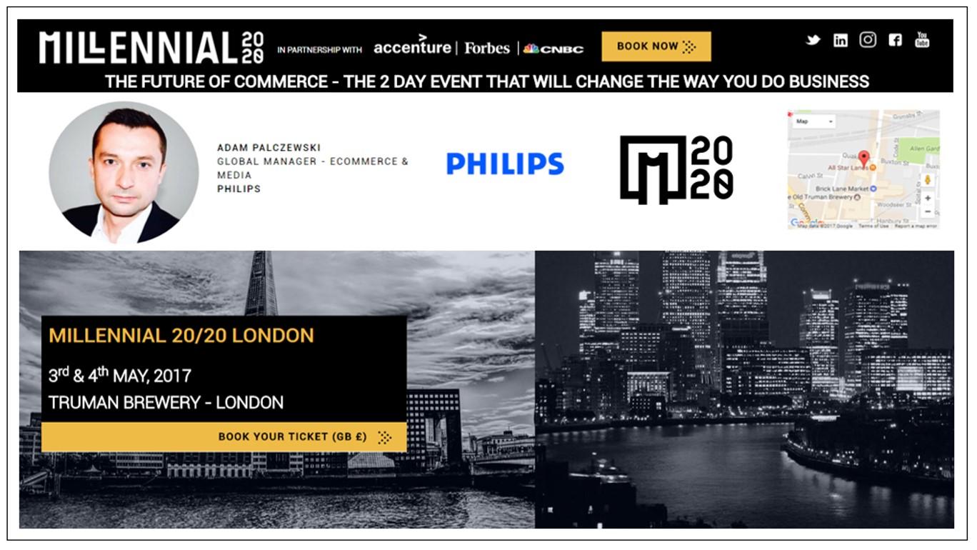 Millenial 20/20 Summit - London, UK