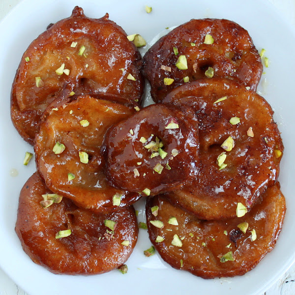 Vegan Richa: Aple Jalebi with Rabri