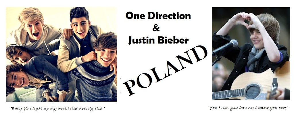 One Direction & Justin Bieber POLAND