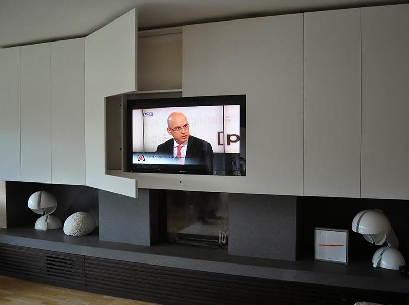 tv + camino un'accoppiata che può essere vincente | archicasa - Soggiorno Cucina Con Camino 2
