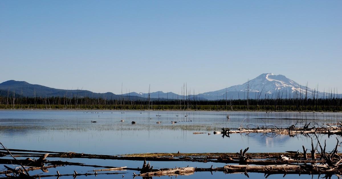 Oregon through my eyes crane prairie reservoir for Wickiup reservoir fishing