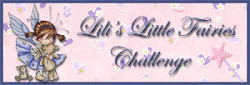 Proud to Design For Lili's Little Fairies Challenge